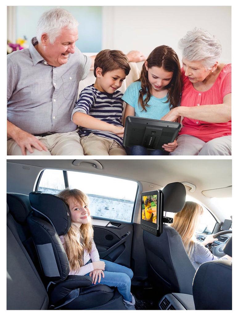 kinder auto kopfstützen dvd player