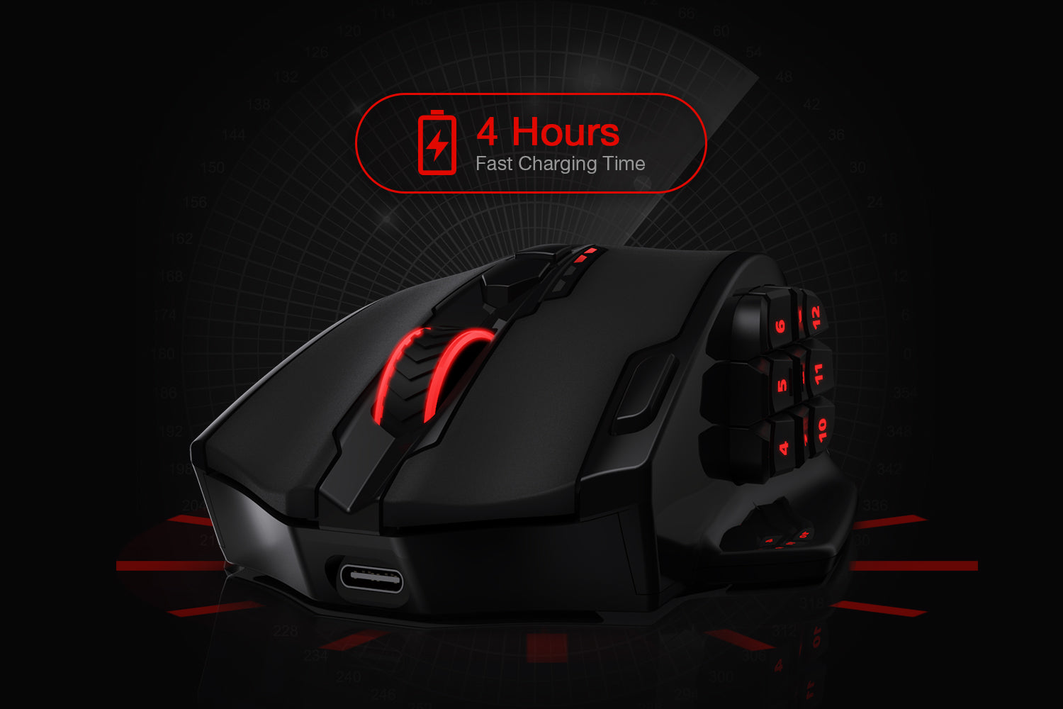 redragon m913 wireless mouse