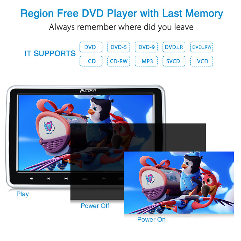 Dual dvd player