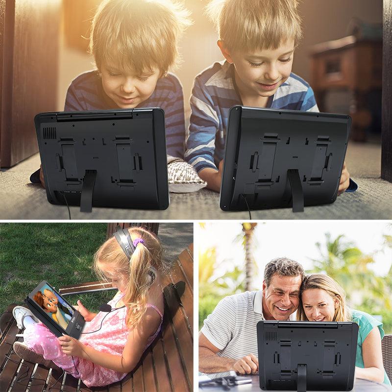 dual screen in car dvd player