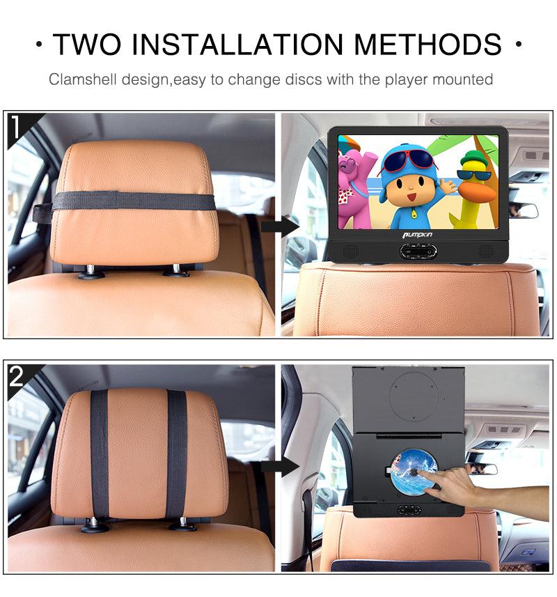 dual monitor dvd player