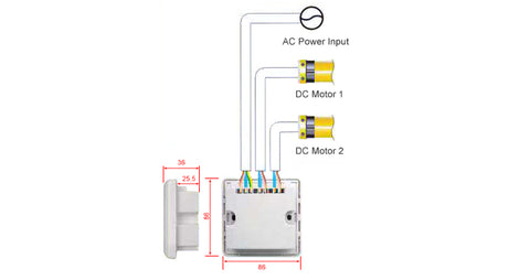 2-channels controller for automatic window opener wiring diagram