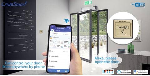 open the door by phone
