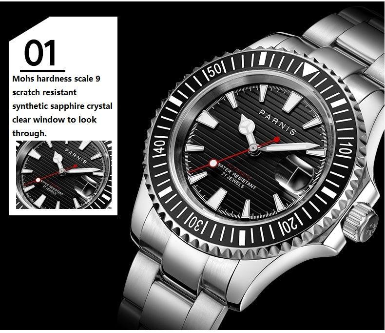 scratch resistant watch