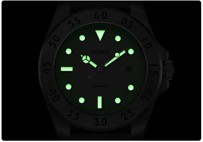 luminescent watch