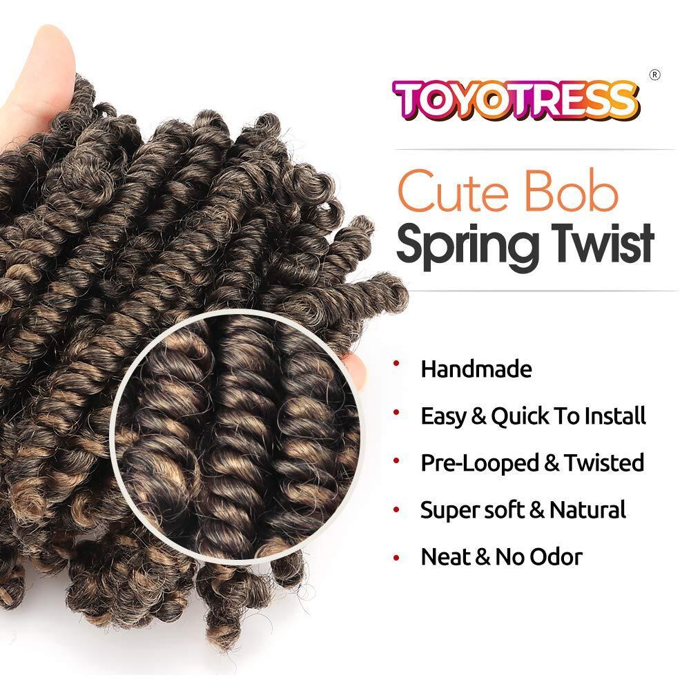 bob spring twist hair