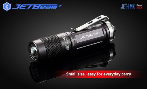 JETBeam JET-I MK 480 Lumen Hard Light Portable Mini Flashlight