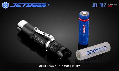 JETbeam PA12 780lumen Highlight Flashlight Portable Mini Outdoor Flashlight