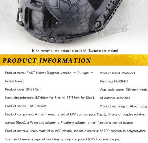 WST Cam for Knob System Fast Helmet