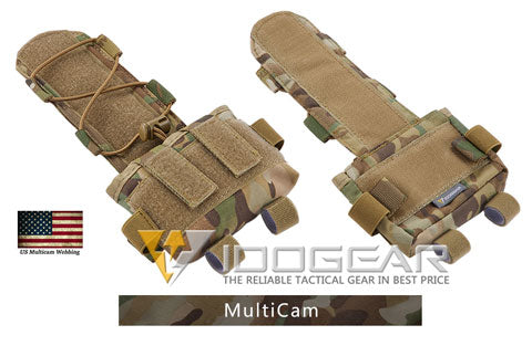 IDOGEAR Tactical Pouch MK2 Battery Case for Helmet Hunting Camo Combat Military Tactical Battery Pouch