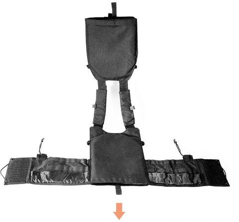YAKEDA Modular 6094 Tactical Vest Military Armor Vest Plate Carrier Vest