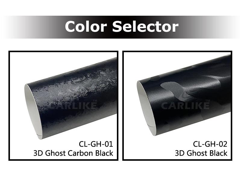 CARLIKE CL-GH 3D Ghost Black Car Wrap Vinyl