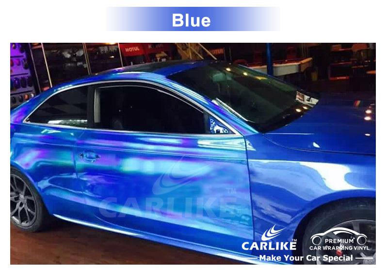 CARLIKE CL-LS Chrome Laser Holographic Rainbow Vinyl