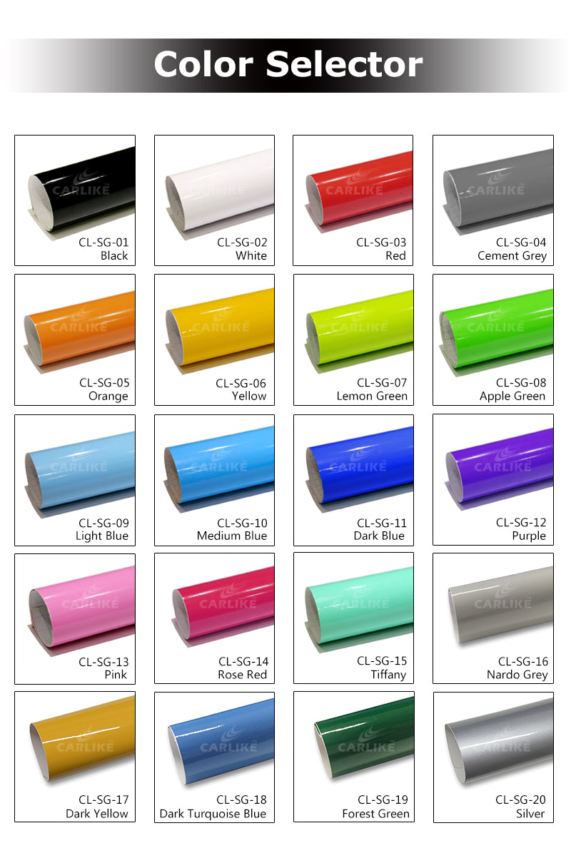 CARLIKE CL-SG Super Gloss Car Wrapping Vinyl