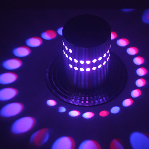 Modern Swirl RGB LED Wall Light