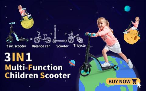 MULTI-FUNCTION CHILDREN SCOOTER