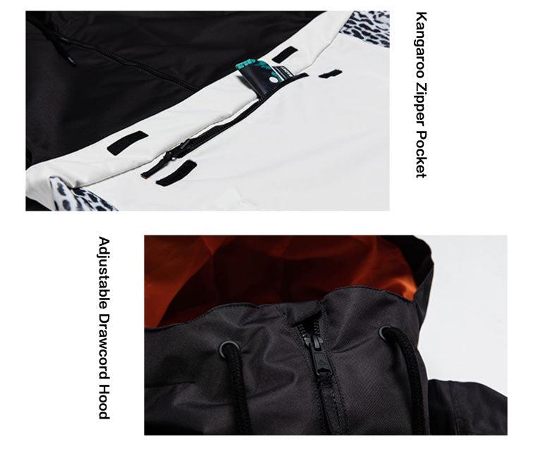 Nobaday Waterproof Sporty Outdoor Pullover Hoodie - Snowverb