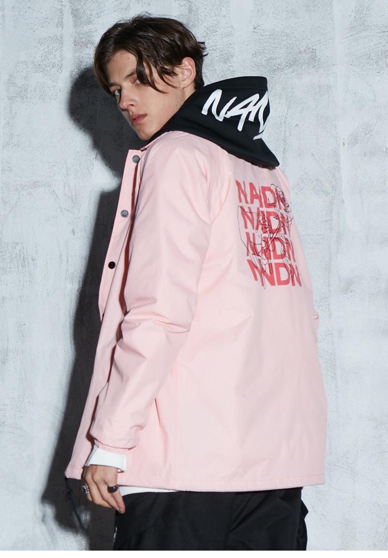 Nandn Snowboard Adventure Street Fashion Coach Jacket