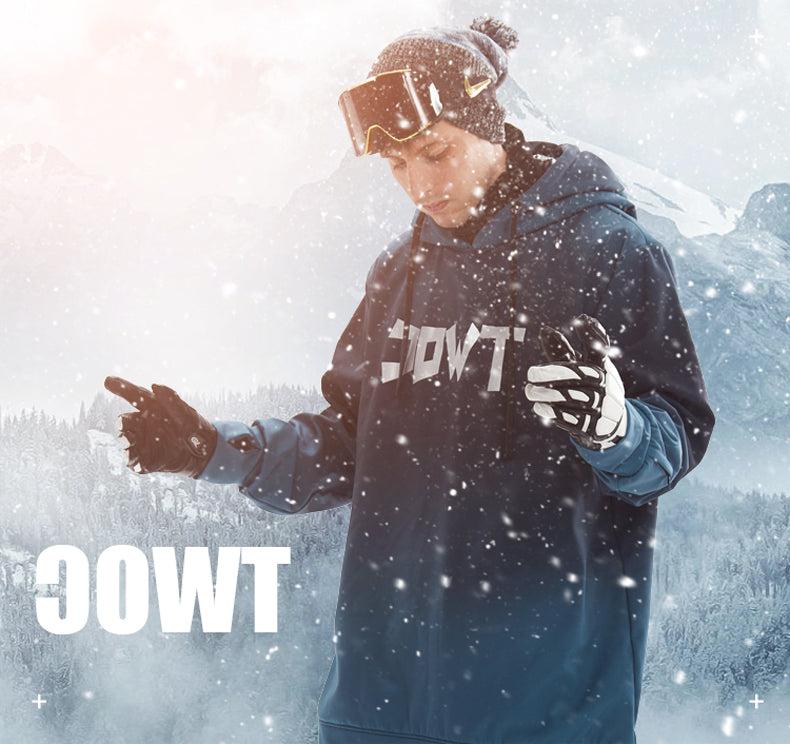 TWOC Unisex Snowboard Park Oversize Snow Hoodie - Snowverb