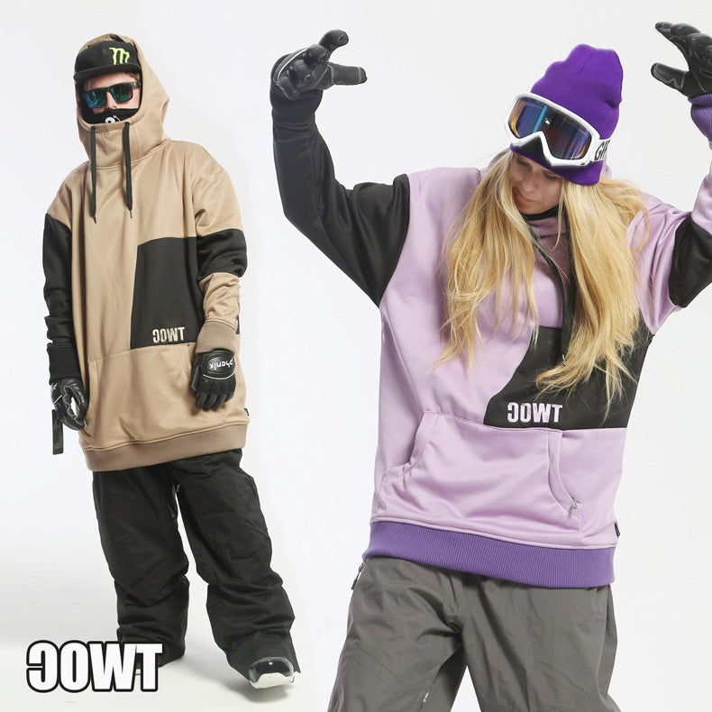 TWOC Slope Style Unisex Oversize Snowboard Hoodie - Snowverb
