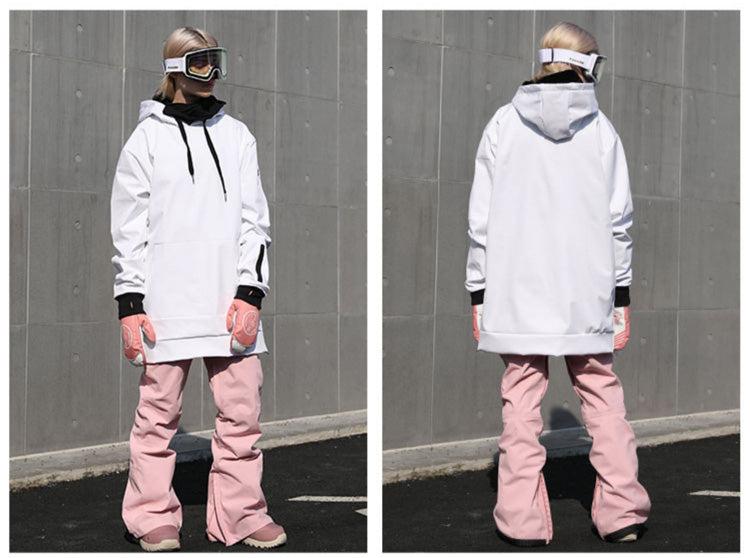 Doorek Unisex Dope Style Winter Outdoor Snow Hoodie