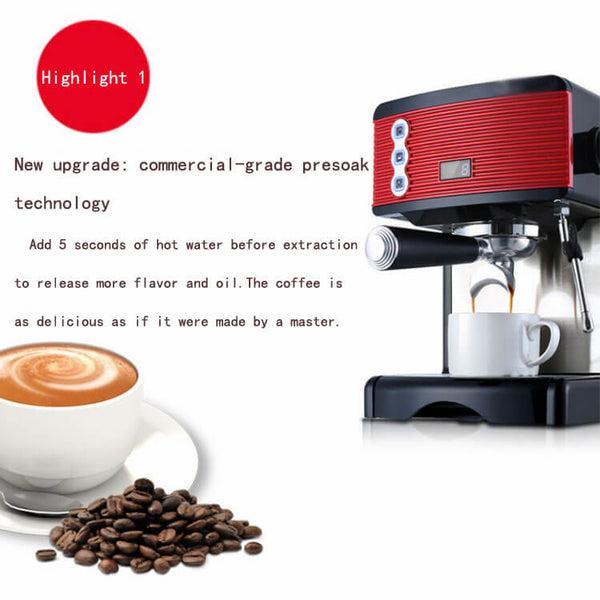 iTOP 3601 semi-automatic espresso coffee machine