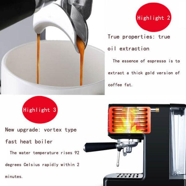 iTOP 3605 espresso machine for office -- iTOP Coffee