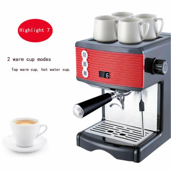 iTOP 3601 coffee machine espresso -- iTOP Coffee