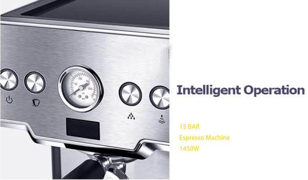 iTOP 3605 home eapresso machine detail_1 -- iTOP Coffee