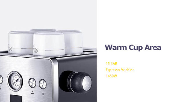 iTOP 3605 espresso coffee machine cup warmmer -- iTOP Coffee