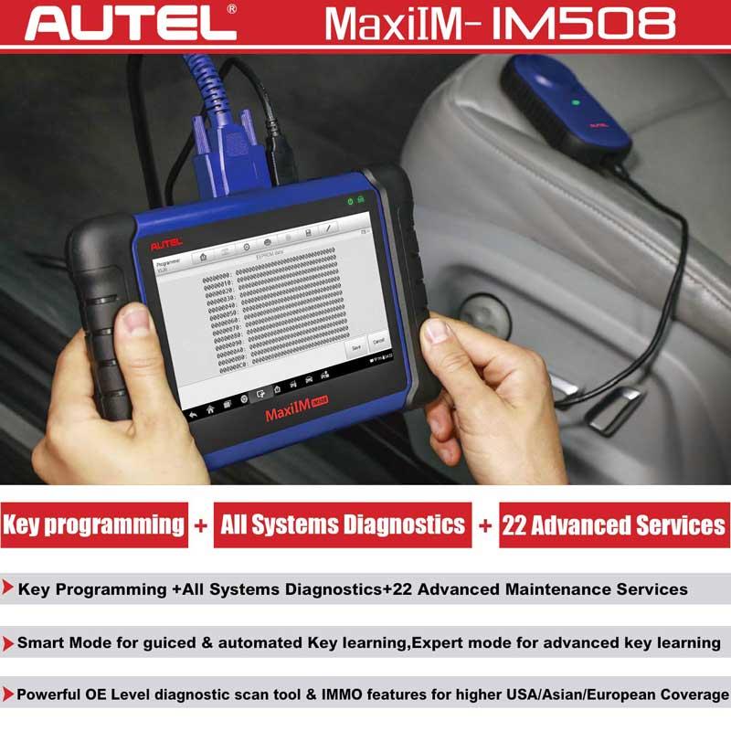 Autel MaxiIM IM508 - VXDAS