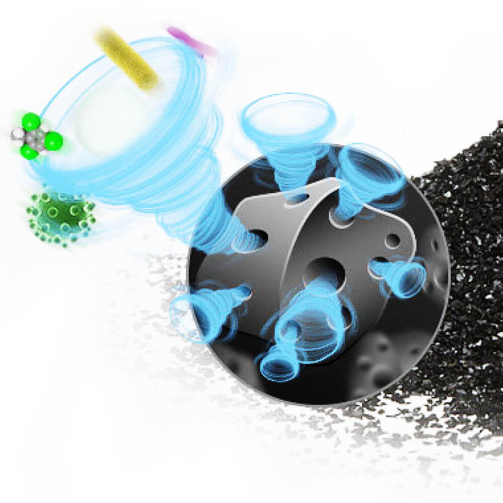 Creative activated carbon