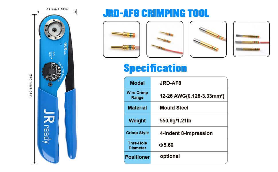 YJQ-W2A AF8 crimping tools