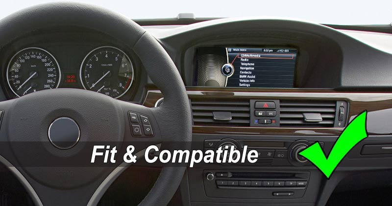 bmw 3 5 series dashboard with cic interfacce