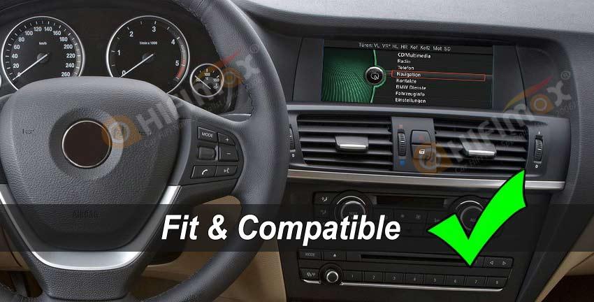 BMW X3 f25 x4 f26 original dashboard with cic interface