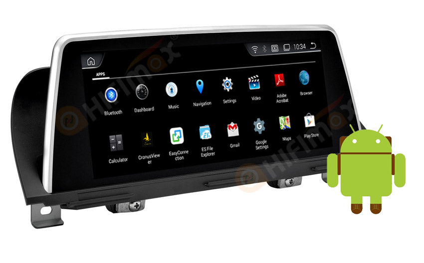 android car stereo for bmw-5-f10-f11-f18-navi-system installed apps
