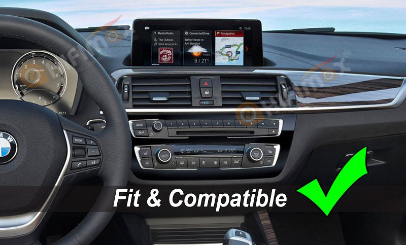 bmw 2 series 2018 dashboard with evo interface