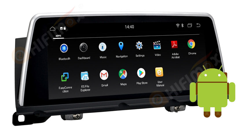 aftermarket bmw f01 f02 android navigation gps screen