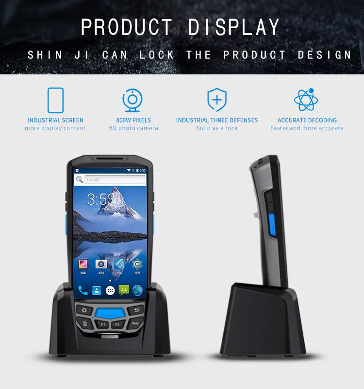 Handheld Android Barcode Scanner