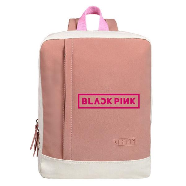 BLACKPINK Korean Cute Casual Tricolor Backpack