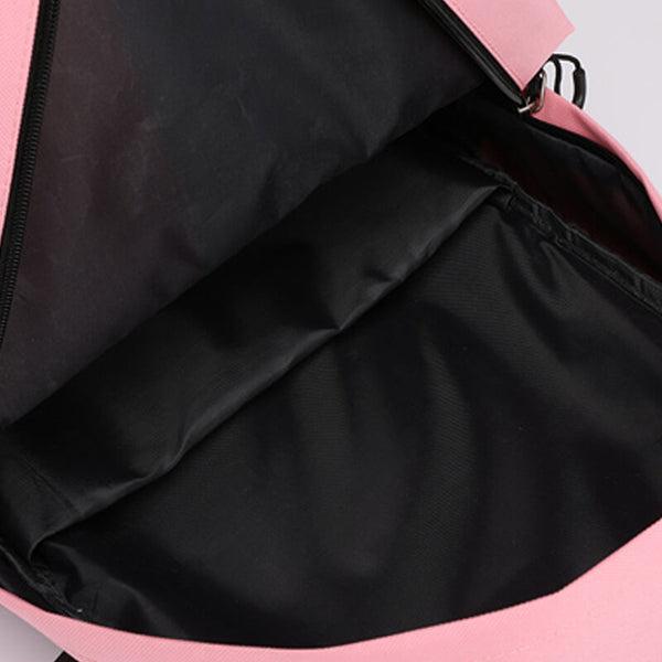 BLACKPINK Korean Student Canvas USB Charging Backpack
