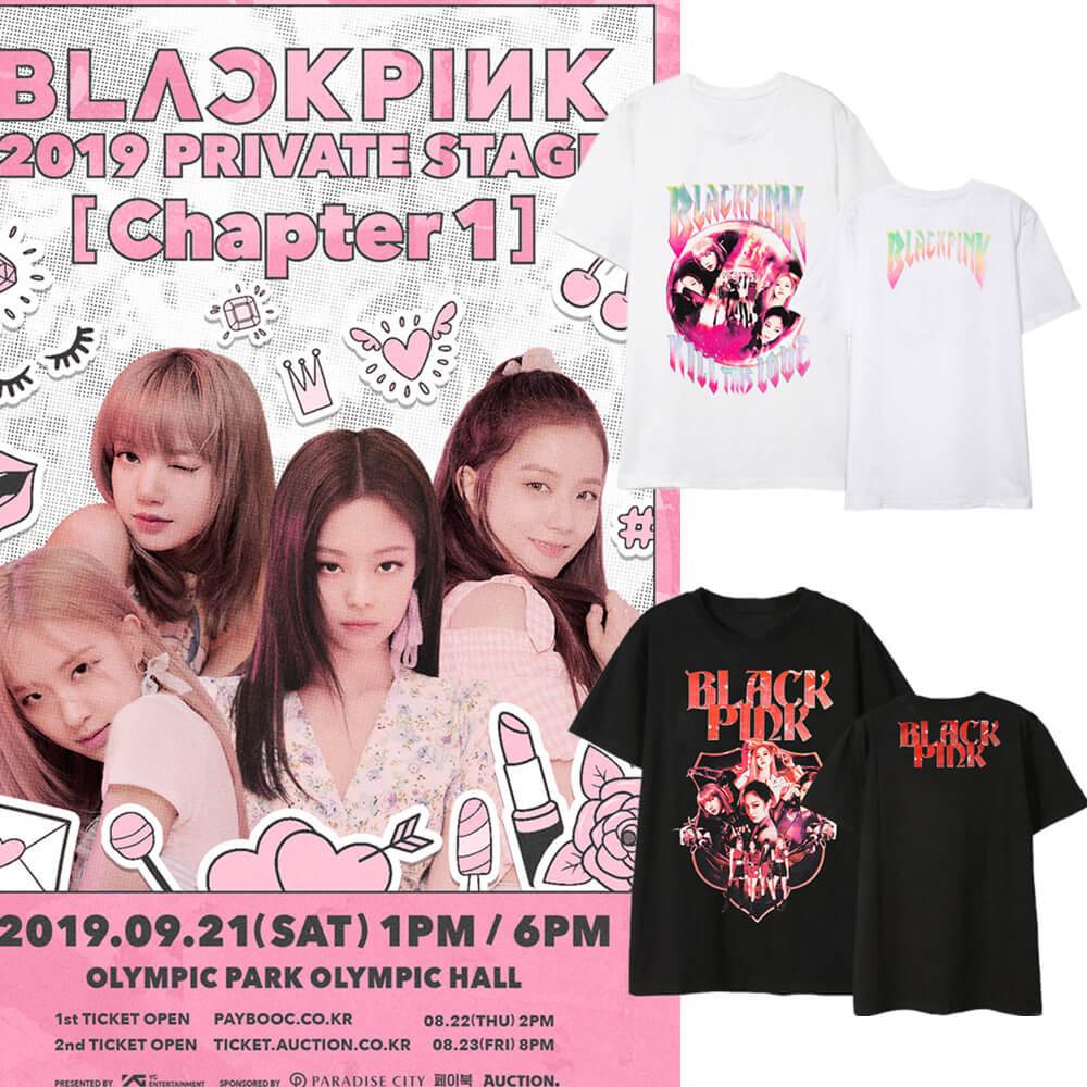 BLACKPINK New Official Idols T-shirt