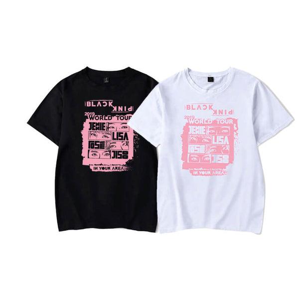 BLACKPINK World Tour Loose Sports T-shirt