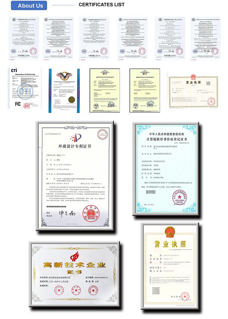 Toumei Certificate