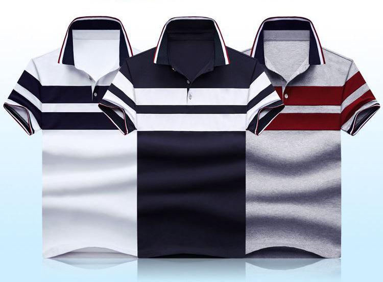 Men's Classic Stripe Short-Sleeve Shirt