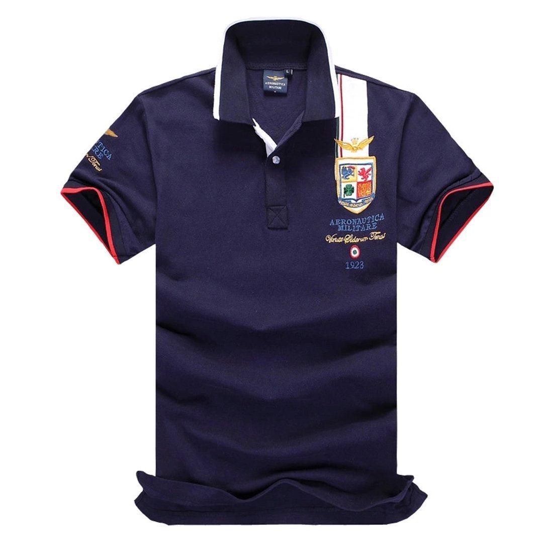 Aero Men's Short-Sleeve Polo Shirts