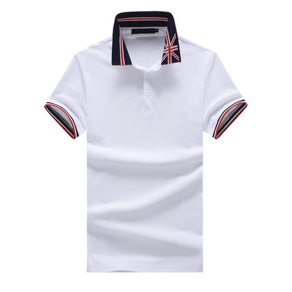 Men's Short Sleeve Polo Shirt Casual Slim Fit