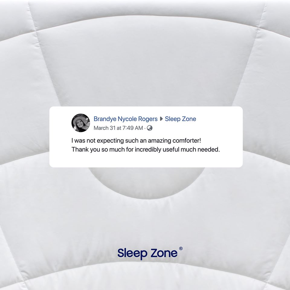 SleepZone,Bedding,SleepBetter,LetsDream