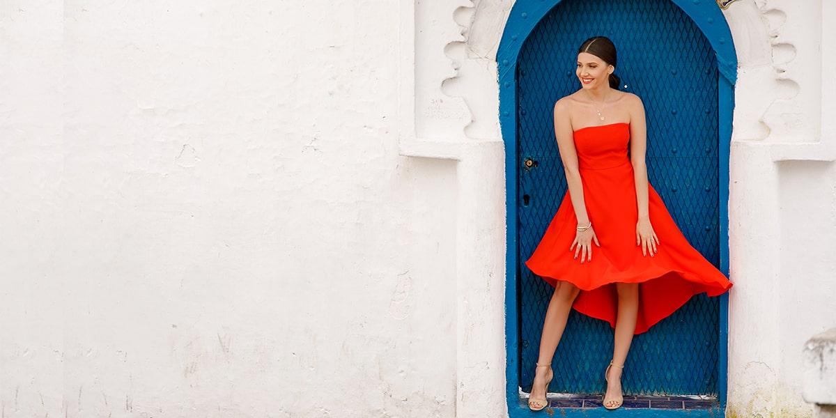 Stunning Strapless A-Line Prom Dress