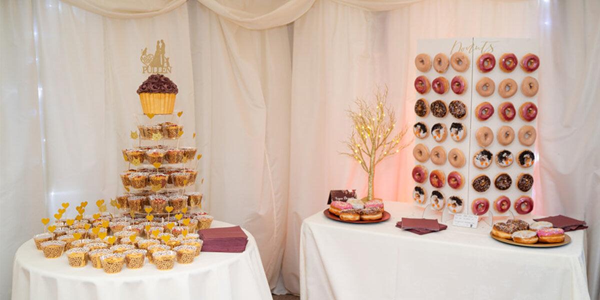 wedding cupcake and dessert